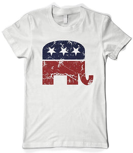 Camiseta Republican Elephant
