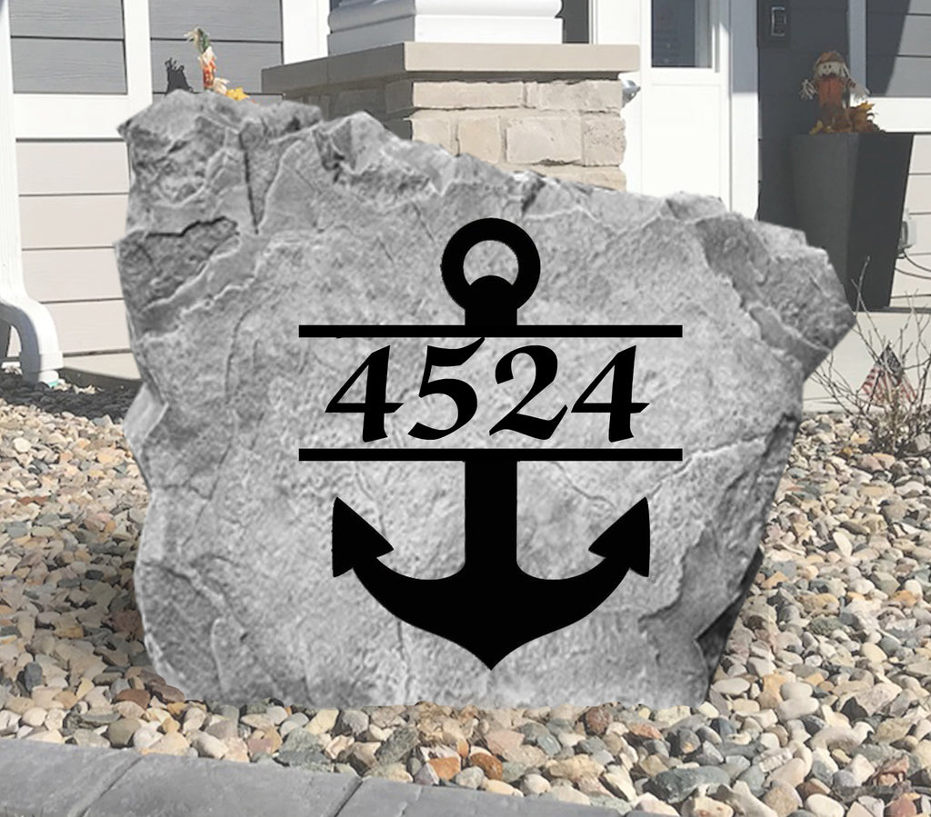 Anchor Address Stone-Design A Stone