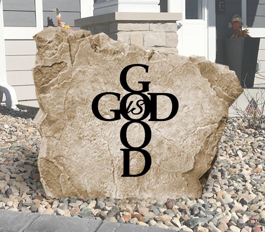 God Is Good Stone-Design A Stone