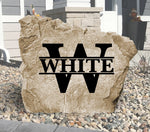 Monogram - Original-Design A Stone