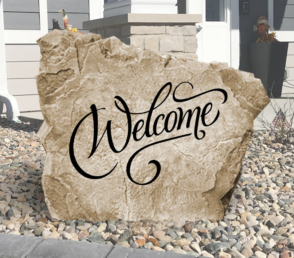 Welcome Stone-Design A Stone