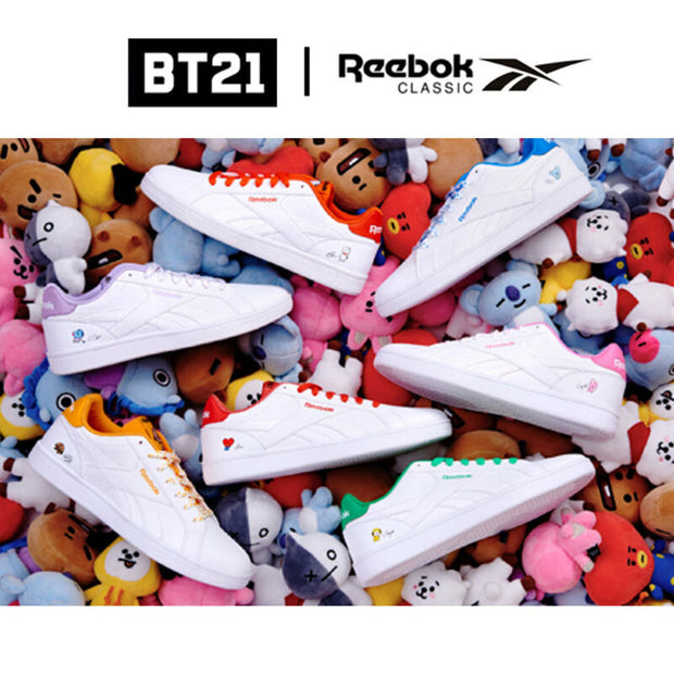 2019c4ab1b8 REEBOK x BT21 Official - COMPLETE 2LCS Shoes – KpopTrendy