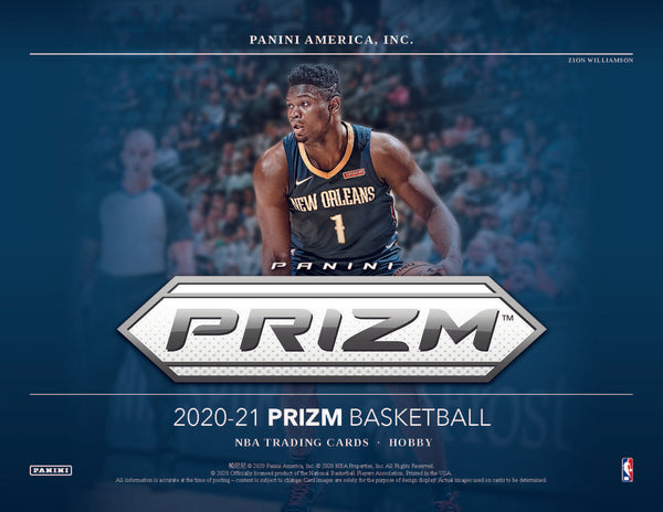 2020-21 Prizm Basketball Hobby Box