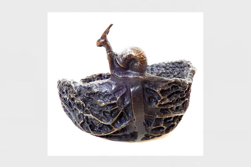 Eccotrading Design London, Bronze Bowl Cabbage - House of Isabella UK