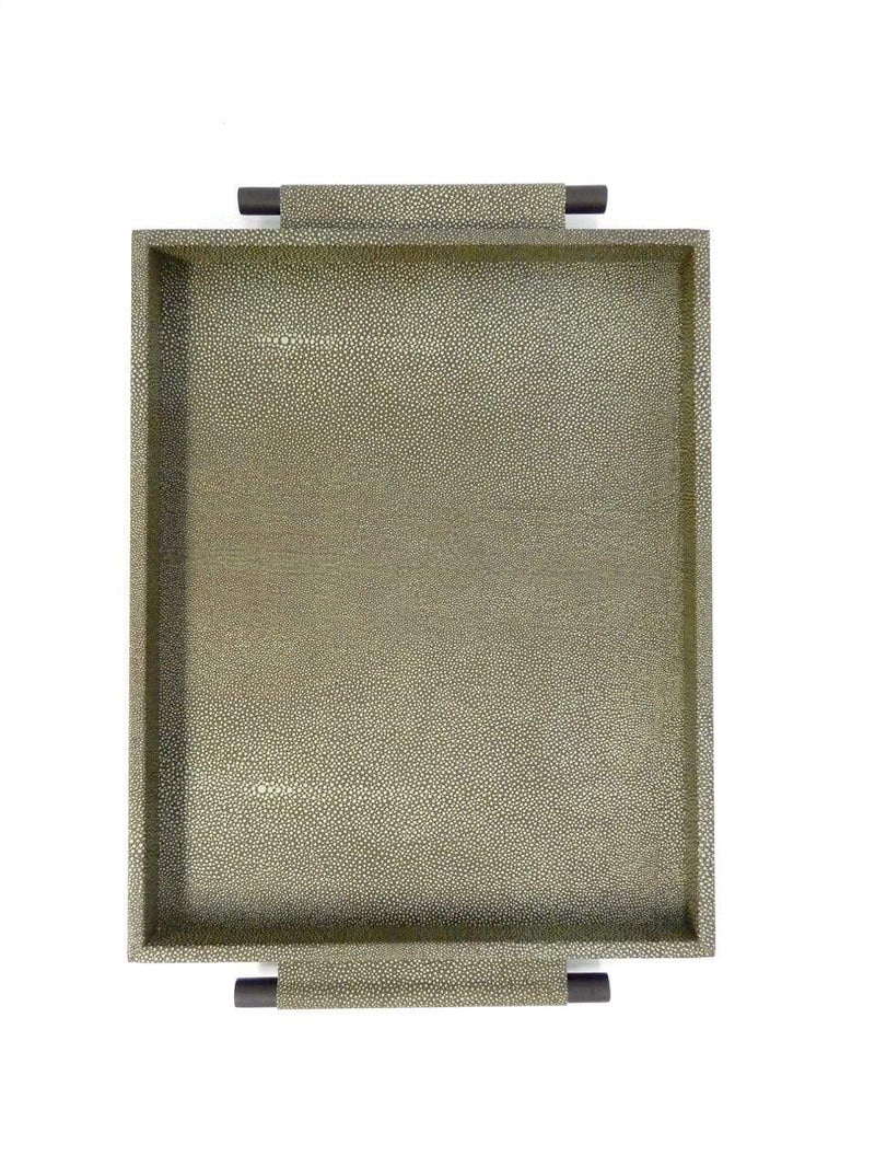 Eccotrading Design London, Tray Arlington Shagreen - House of Isabella UK
