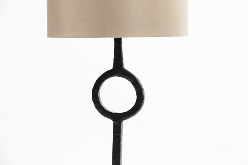 Eccotrading Design London, Bronze Ring Table Lamp - House of Isabella UK
