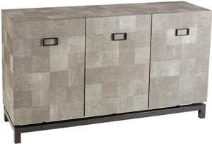 3 Door Cabinet Shagreen