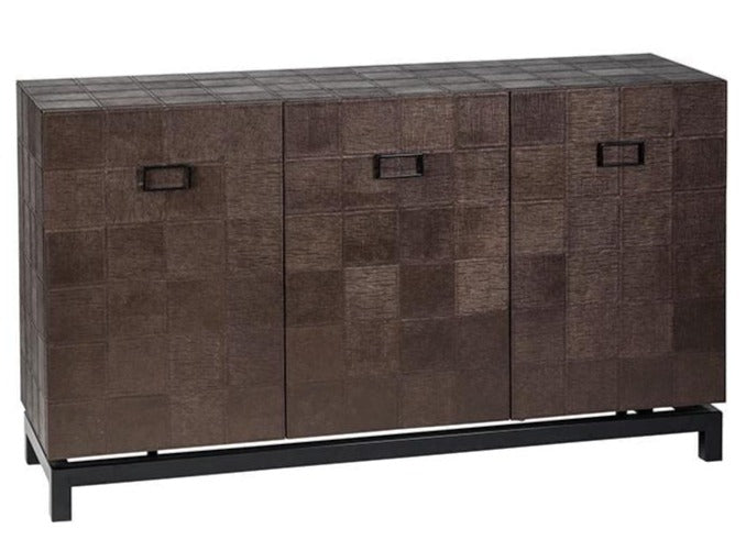 Eccotrading Design London, 3 Door Cabinet Shagreen - House of Isabella UK
