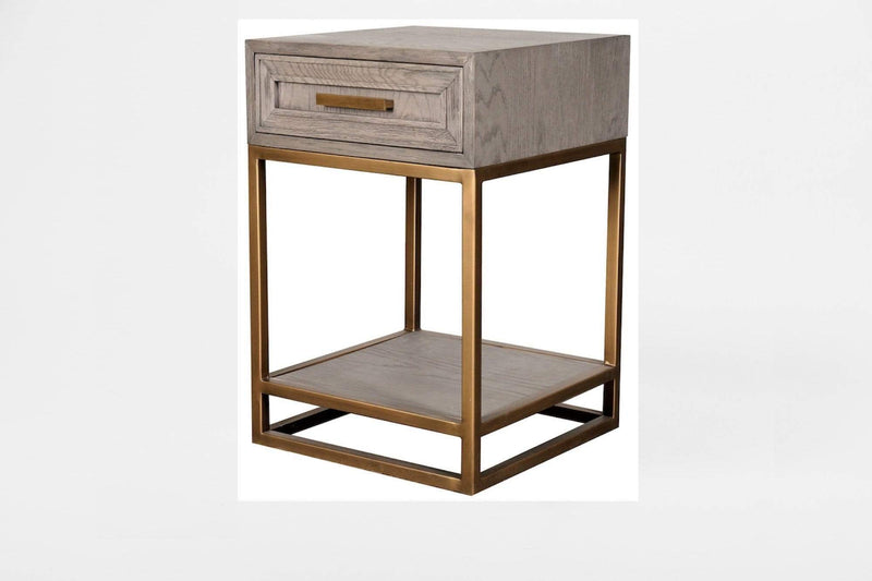 Eccotrading Design London, Renmin 40 Side Table with Drawer 1 - House of Isabella UK