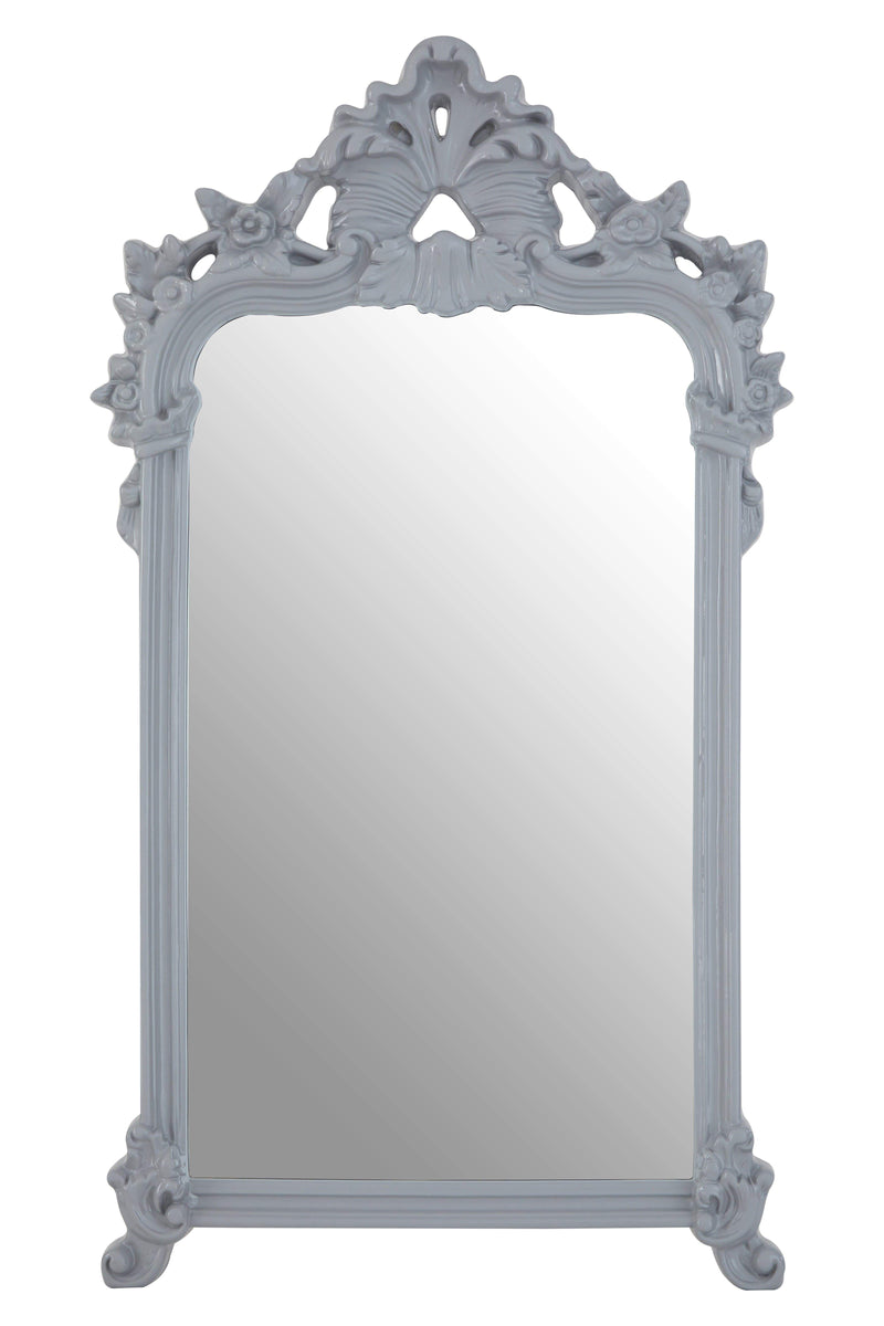 Amaki Grey Wall Mirror - House of Isabella UK