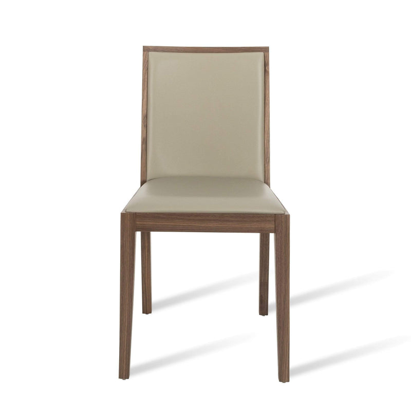 Lotus Dining Chair - Walnut / Stone - House of Isabella UK