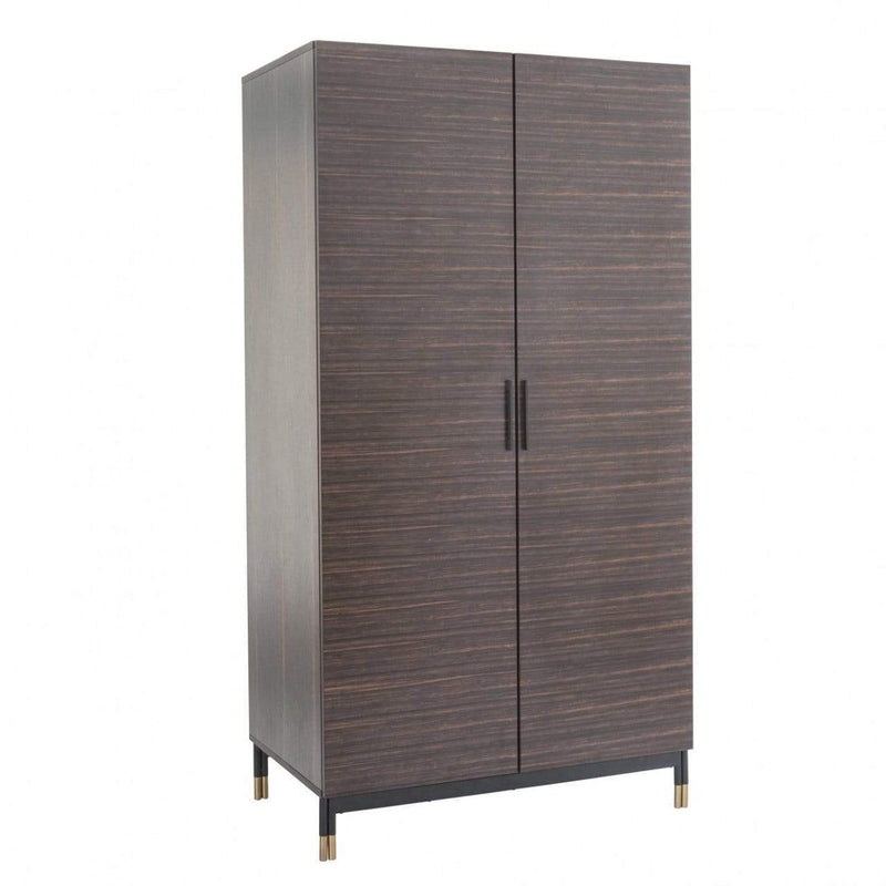 Twenty10 Designs, Bali 2 Door Wardrobe - Ebony - House of Isabella UK
