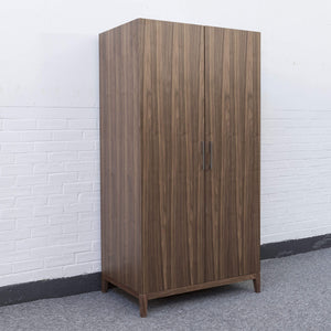 Calla Wardrobe - Walnut