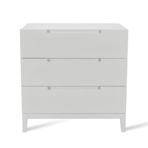 Orchis 3 Drawer Chest - White