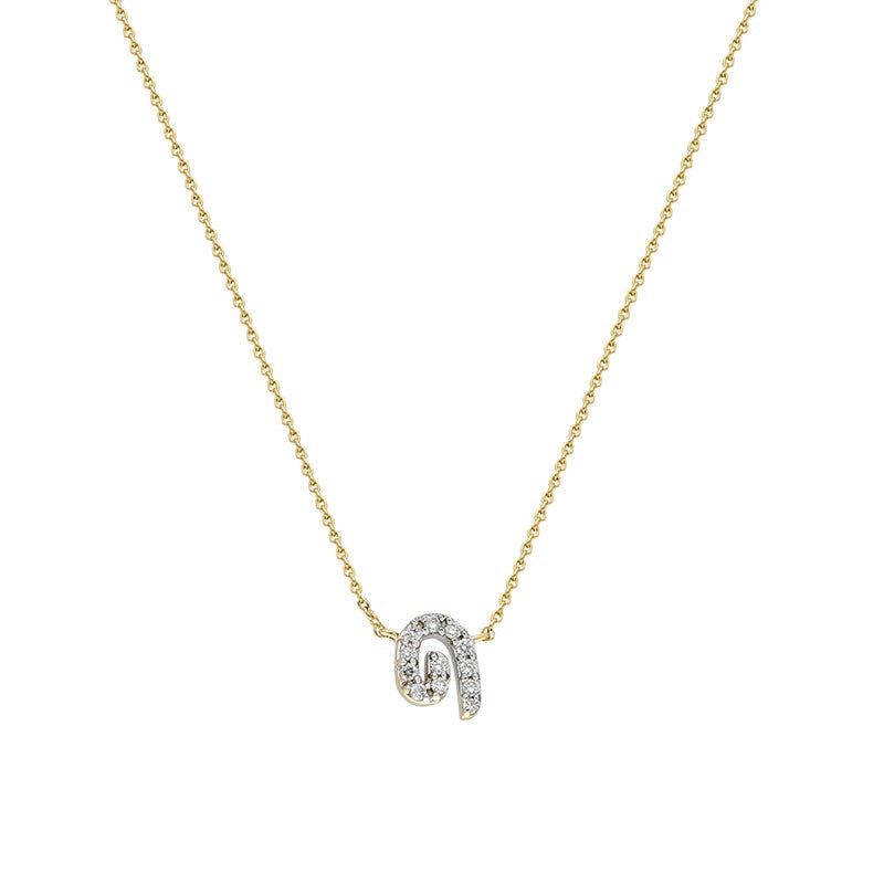 """Txirimiri"" Mini Siempre Diamond Necklace"