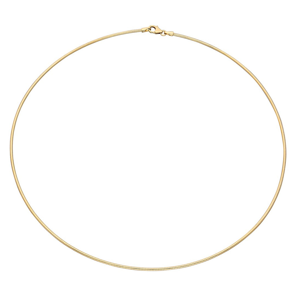 Omega Wire Necklace Chain
