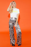 Leopard star trousers