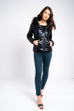 Padded Faux Fur Hooded Jacket