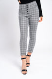 Smart Check Trousers
