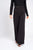 Belted Wide Leg Trousers Black