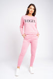 Vogue inspired Print Tracksuit