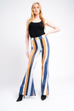 Wide Leg Trousers Multi Colour