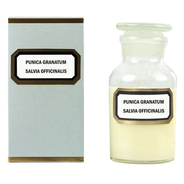 Gilded Apothecary Candle : Sage & Pomegranate (Punica)