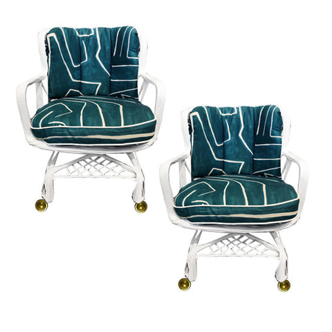 Wearstler x Woodard Chairs
