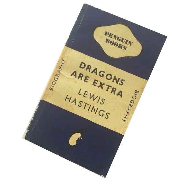 Vintage Penguin Book : Dragons Are Extra