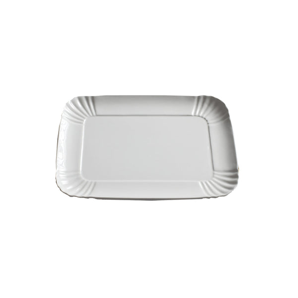 Porcelain Tray : Medium White
