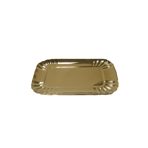 Porcelain Tray : Medium Gold