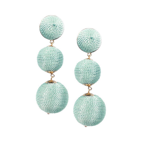 Edie Earrings : Seafoam