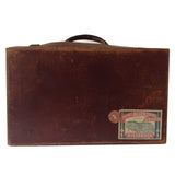 Antique English Suitcase : Small Globetrotter