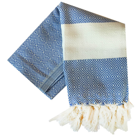Bianca Turkish Towel : Basin Blue
