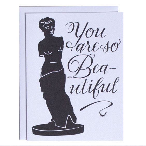 Card : You Are So Beautiful