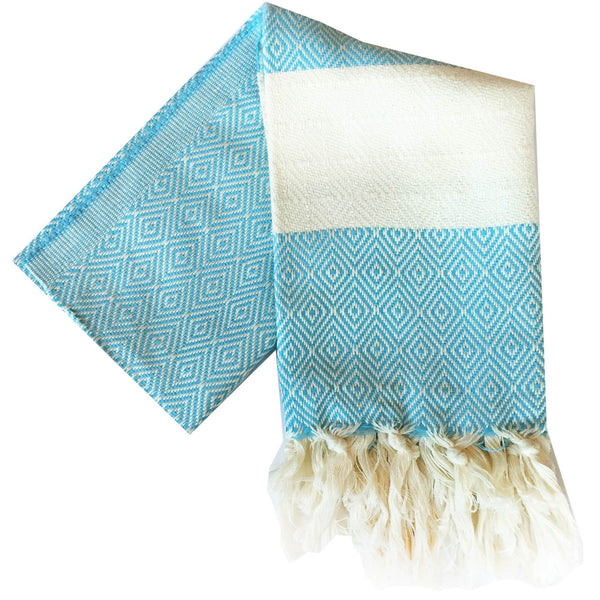 Bianca Turkish Towel : Bright Blue