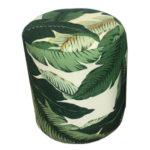 Palm Leaf Stool - Two Available