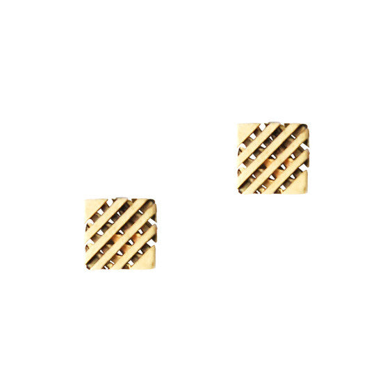 Loren Hope : Eden Square Studs