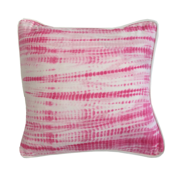 Edie Shibori Pillow : Pink