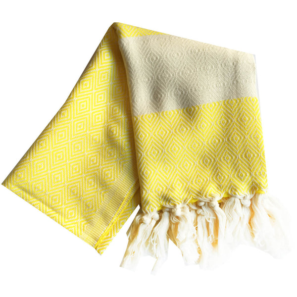 Bianca Turkish Towel : Lemon