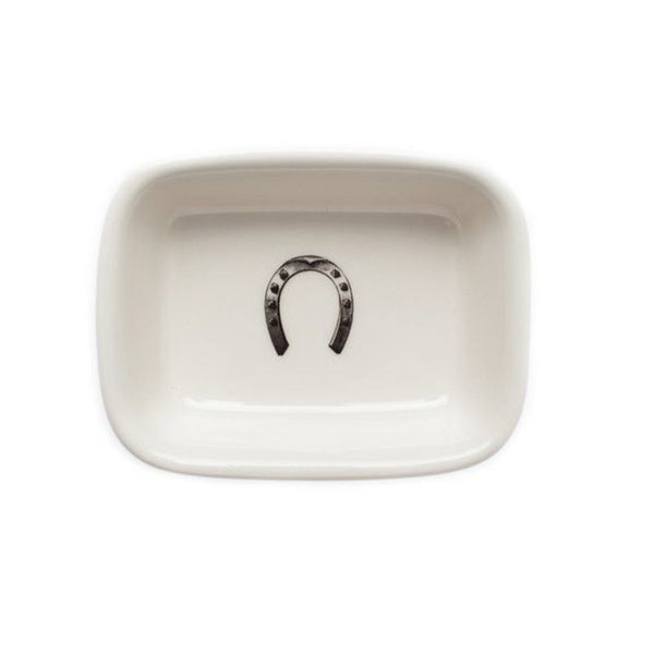 Soap Dish : Lucky Horse Shoe