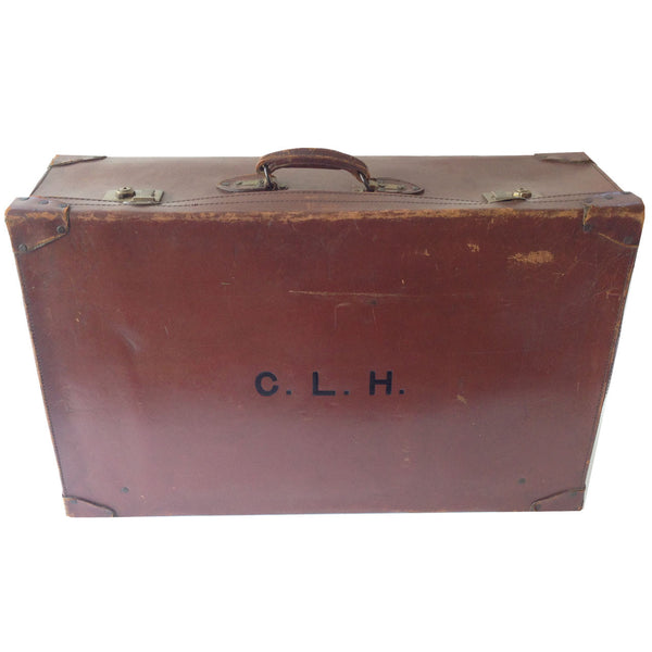 Antique English Suitcase : CLH