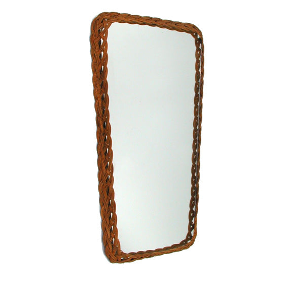 Danish Mid-Century Mirror