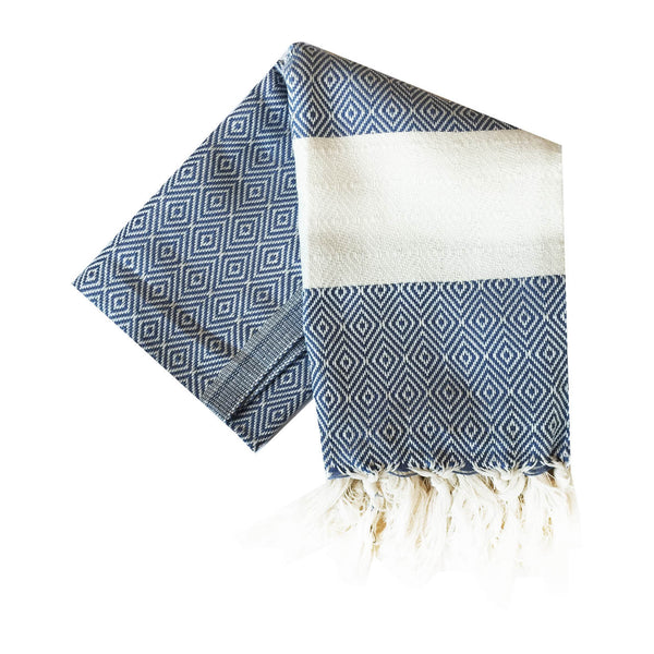 Bianca Turkish Towel : Navy