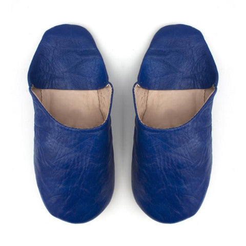 Moroccan Slippers : Navy