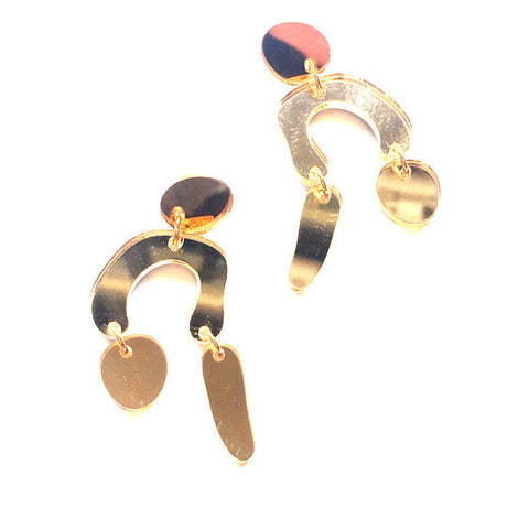 St. Vincent Earrings : Gold