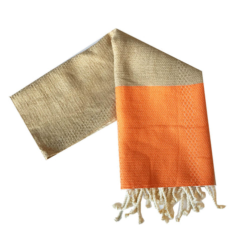 Kehoe Turkish Towel : Orange