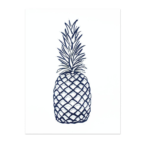 Note To Self : Pineapple Print