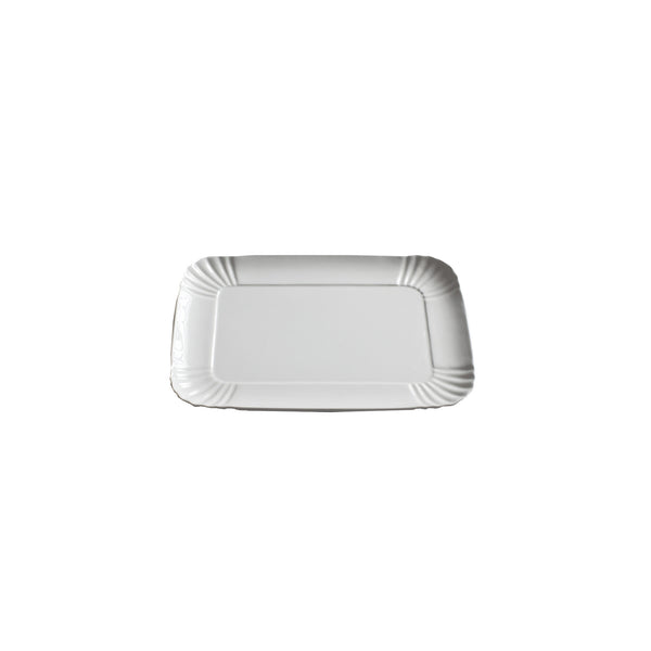 Porcelain Tray : Small White