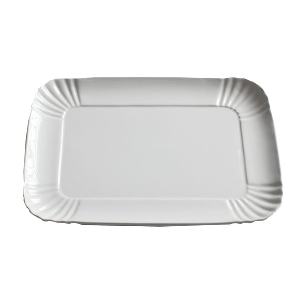 Porcelain Tray : Large White